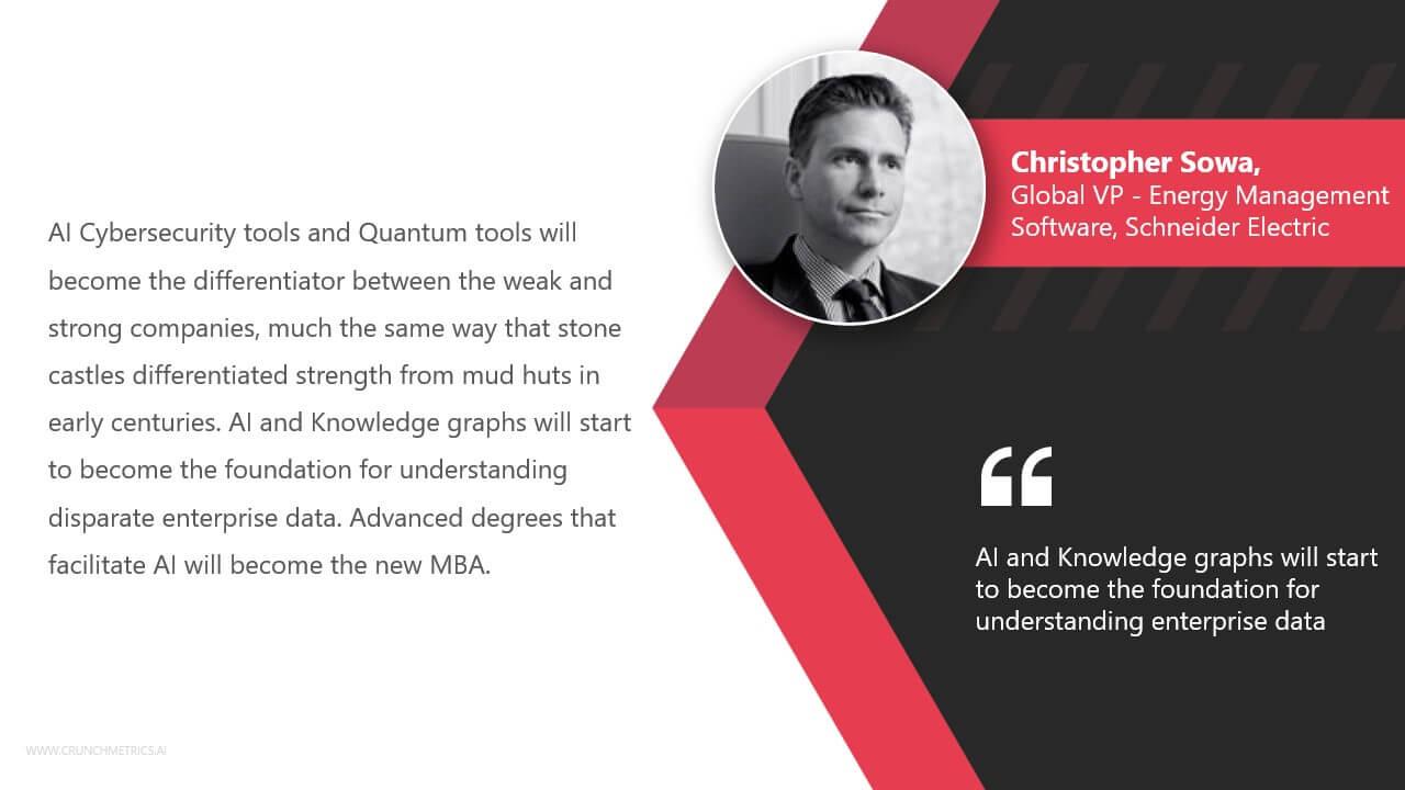 Chris Sowa, Global VP - Energy Management Software, Schneider Electric