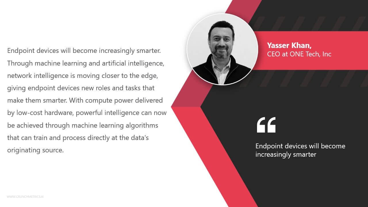 Yasser Khan, CEO at ONE Tech Inc