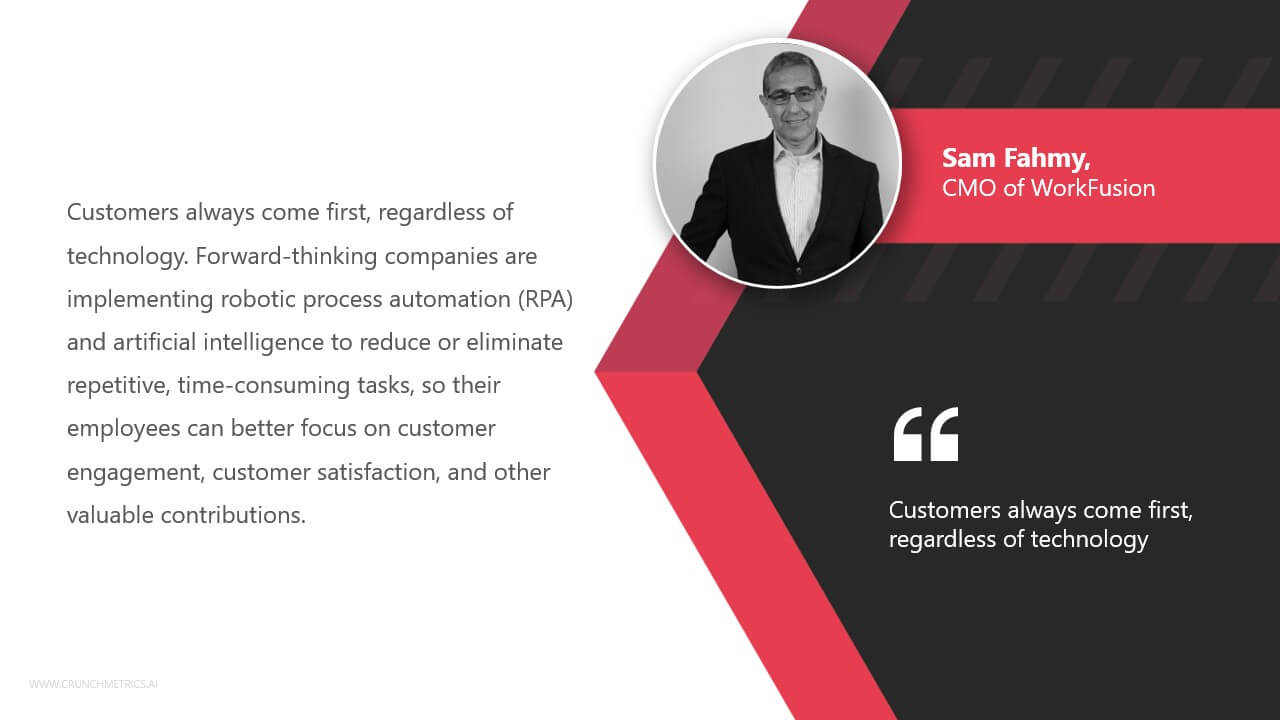 Sam Fahmy, CMO ofWorkFusion